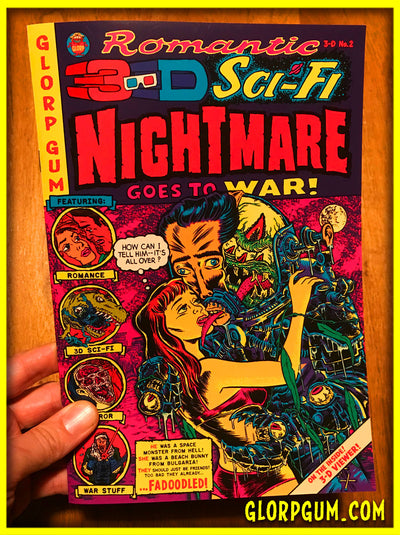 Romantic 3-D Sci-FI Nightmare Goes To War #2