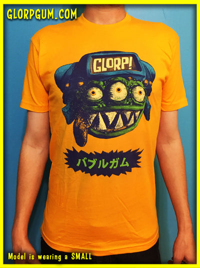 GLORP in Japan GOLD (with FREE GLORP Face T-Shirt)