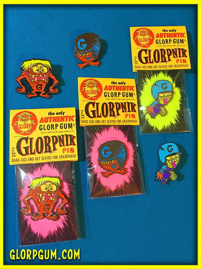 GLORPNIK Pin Set