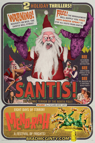 SANTIS! Holiday Cards