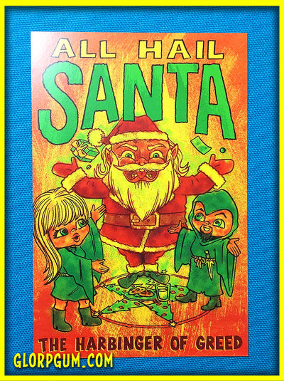 Hail Santa Holiday cards!
