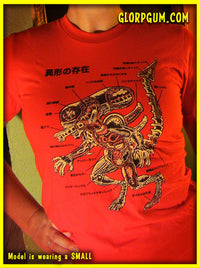 Anatomy of the Xenomorph T-Shirt