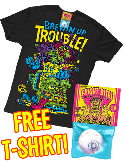 Fright Bite! (With FREE Brewin' Up Trouble T-Shirt!)