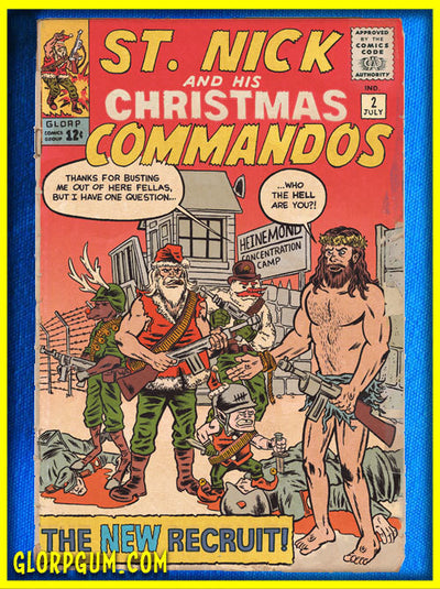 St. Nick and His Christmas Commandos Holiday Cards