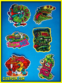 GLORP Die Cut Delight Sticker Pack!