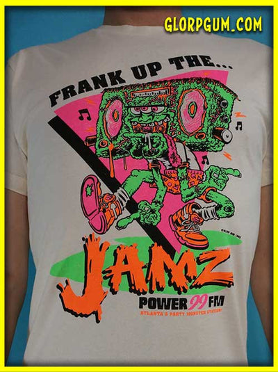 GLORP XTREME! (With FREE Frank up the jams T-Shirt)