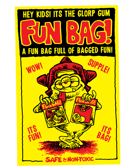 GLORP FUN BAG #3 Return of the third eye!