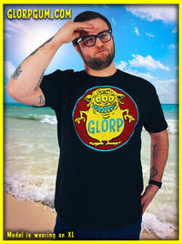 GLORP HEP GUM (with FREE Glorp Fink T-shirt! BLUE!)