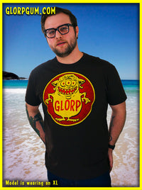 GLORP HEP GUM (with FREE Glorp Fink T-shirt in Brown!)