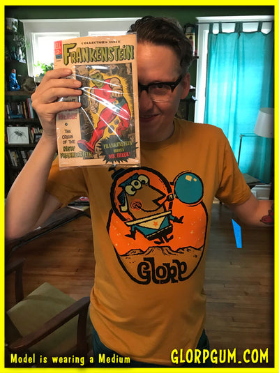 GLORP Gold (with FREE GLORP-O-naut T-Shirt!)