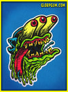 1980's GLORP Wad Sticker