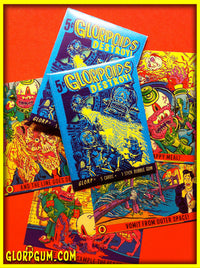 Glorpoids Destroy! Trading Cards