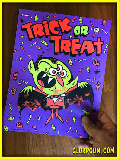 DOUBLE TROUBLE: Giant Halloween Sticker Sheet 2 pack!
