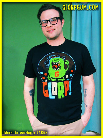 GLORP Gum Chew (with FREE Glorpball Machine Logo T-Shirt!) WH