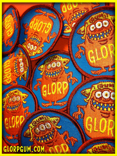 1970's GLORP GUM PATCH!