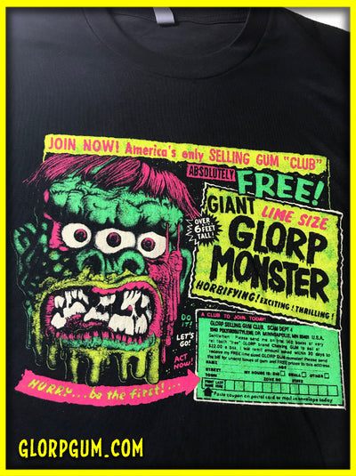 GLORP Fright Bite! (with FREE GLORP Monster T-Shirt)