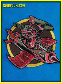 The Glorps Will Getcha' WWII Bomber Squadron Patch