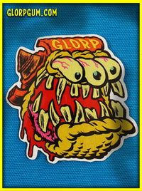 1960s Glorp Fink Sticker
