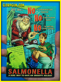 Salmonella Holiday Health cards!