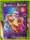 Santa Sauce and the Baby Beefmus VHS Holiday cards