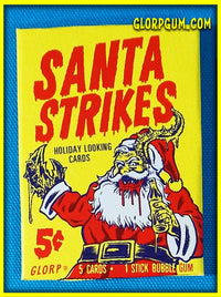Santa Strikes! Holiday Trading Card Sets
