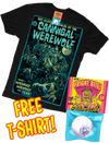 GLORP Fright Bite! (with FREE Cannibal Werewolf T-Shirt)
