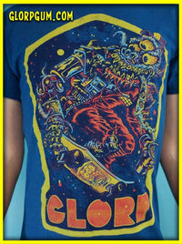 GLORP Arcade Blaster Gum (with FREE Skate Alien T-Shirt!)