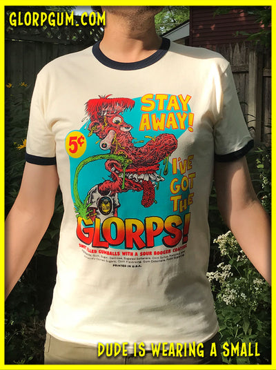 GLORP Hip Hep! (with FREE GLORP STAY AWAY T-Shirt)