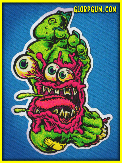 1980's GLORP Sticky Foot Sticker