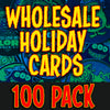 Wholesale Holiday card pack of 100