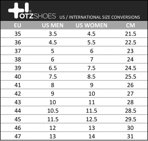 The international foot corresponds to human feet with shoe size 13 (UK), 14 (US male), (US female), or 46 (EU). Centimeter to Foot Conversion Table Centimeter [cm].