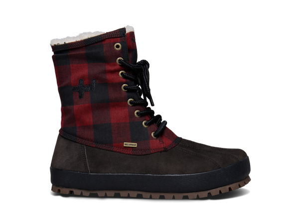 Mens Plaid Conody Boot