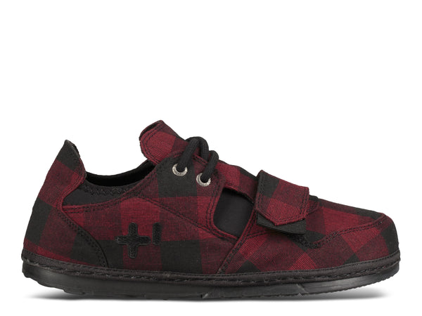 Mens Plaid Low