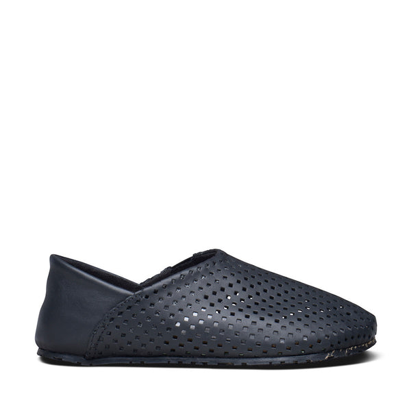 Espadrille Perforated Leather