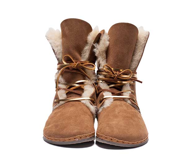 Womens Troop Shearling