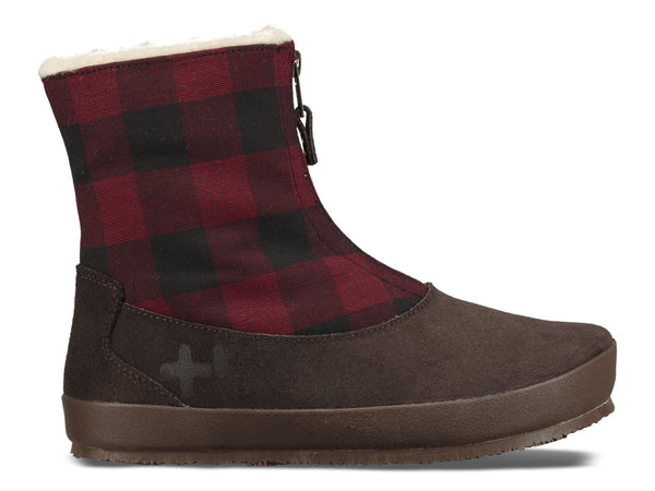 Womens Plaid Bazzu Shearling