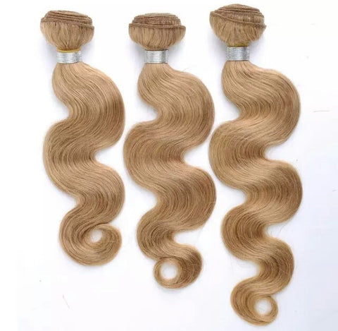 3 Bundles of Brazilian Body Wave 18/20/22  Blonde