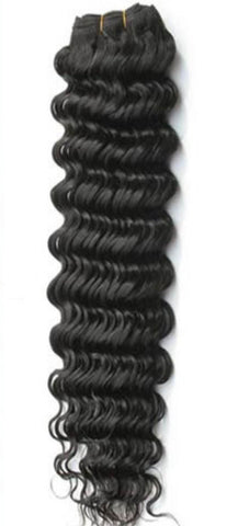 Deep Wave Virgin Human Hair Extentions