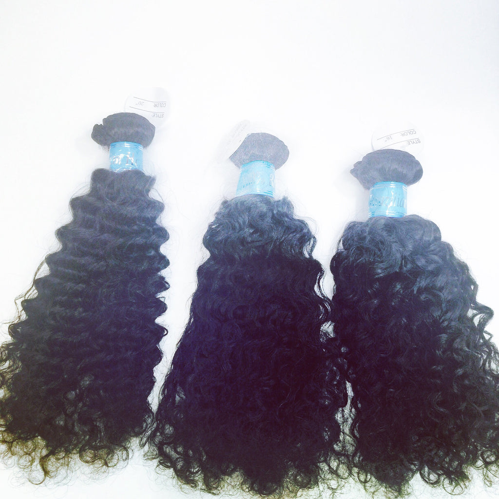 3 Bundles of 14/16/18 in Deep Curly