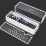 Personalised Parker Urban Dark Blue