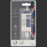 Parker Quink Flow Discovery Pack Ballpoint & Gel Refills