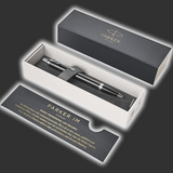 Personalised Parker IM Gloss Black