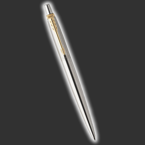 Personalised Gold Trim Jotter Parker