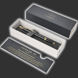 Personalised Parker IM Gold Trim