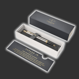 Personalised Parker IM Metal Gold Trim