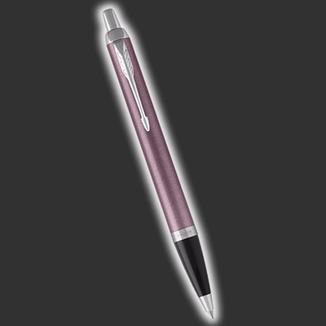 Personalised Parker IM Light Purple Ballpoint Pen