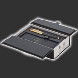 Personalised Parker Premier Storm Grey Fountain Pen