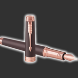 Personalised Parker Premier Soft Brown FountainPen