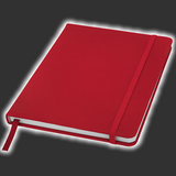 Red Notebook - A6 or A5 Size