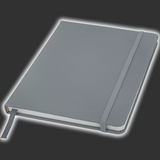 Silver Notebook - A6 or A5 Size
